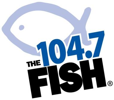 104.7 The FISH logo