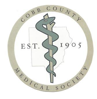 Cobb County Medical Society logo