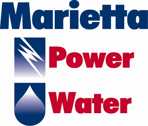Marietta Power and Water logo